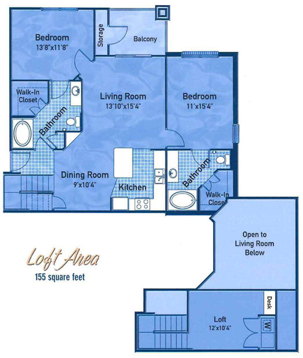 The Meadowlark Floor Plan Image